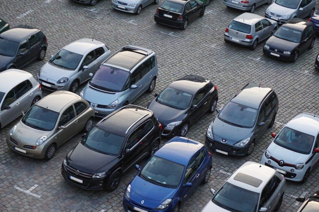 parkeren auto